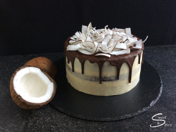 Schoko Kokos Torte Sweet Spicy